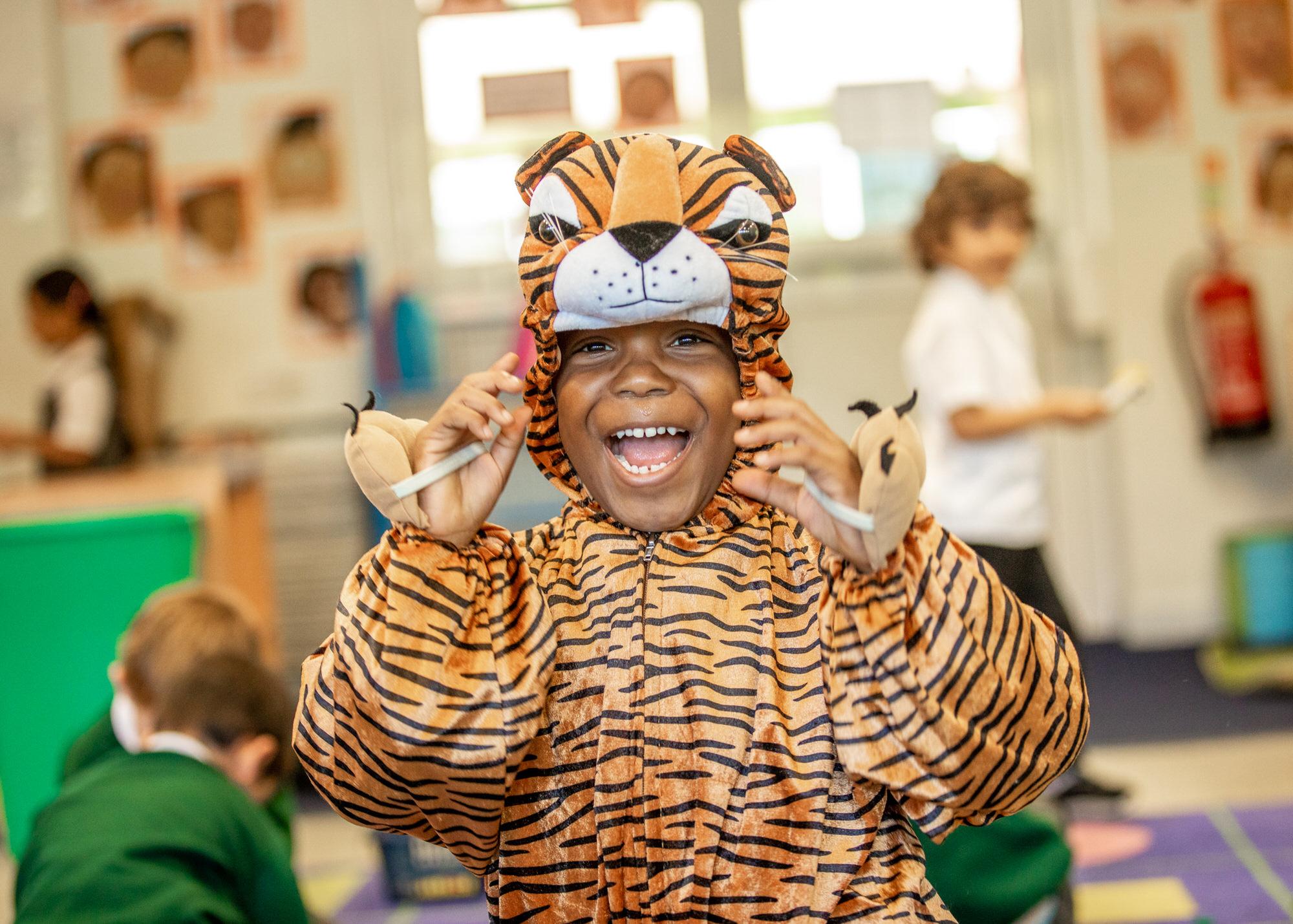 child having fun,, photographed by Hertfordshire school photographer Alannah Hebbert