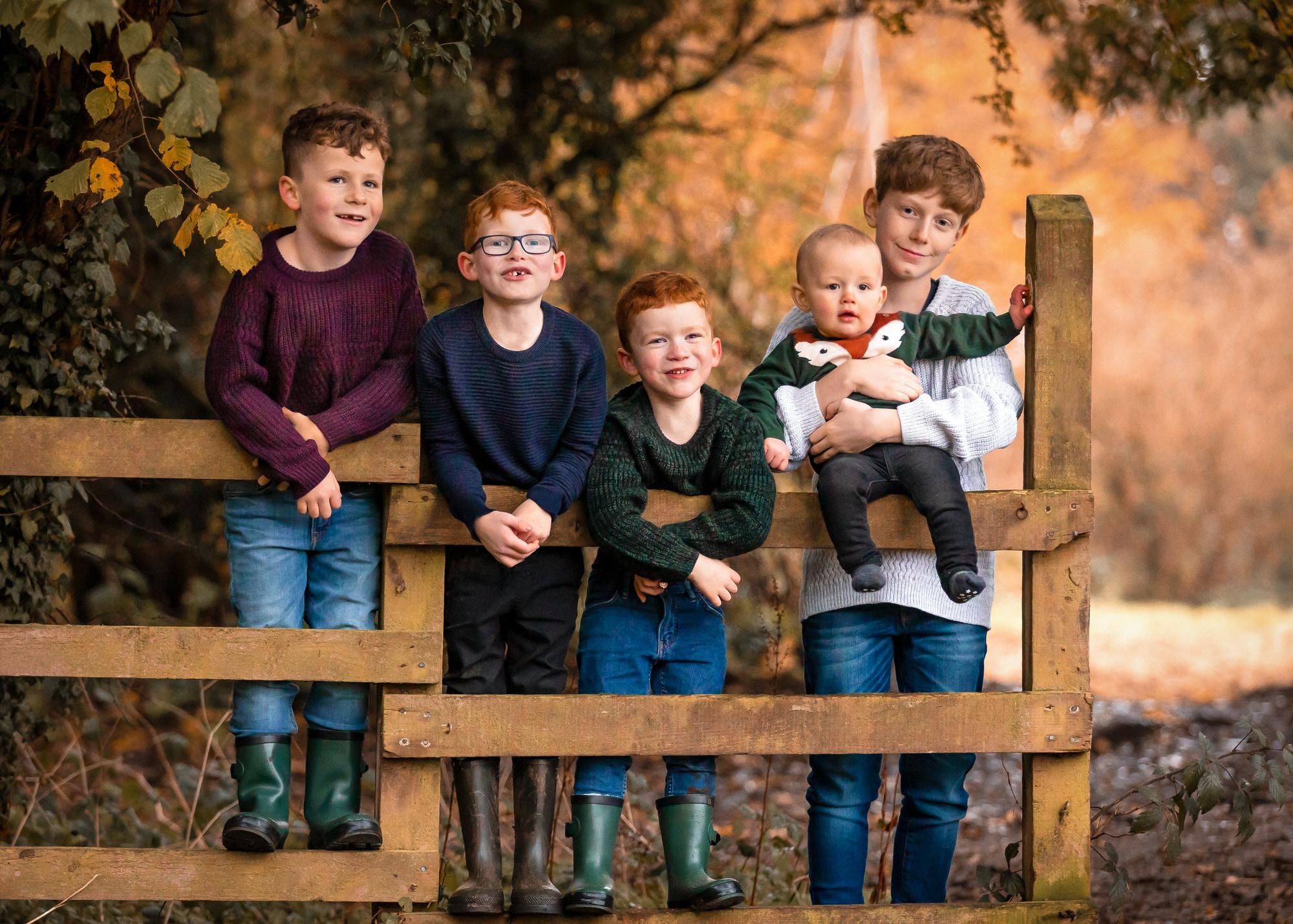 Hertfordshire family portrait