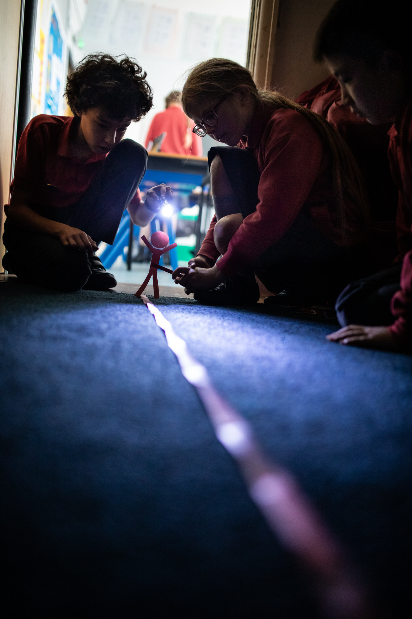 a science lesson, photographed by Hertfordshire school photographer Alannah Hebbert